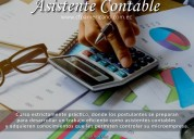 curso de asistente contable y tributario