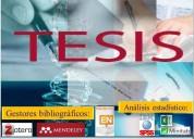 Tesis, proyectos y clases de nivelación