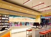 Diseño de interiores local comercial quito