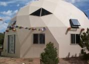 Fabrico cabaÑas campestres redondas tipo domo geodesico