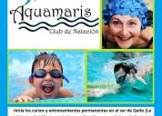 Cursos de natación para todas las edades en el sur de quito