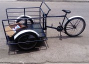 Vendo triciclo azul