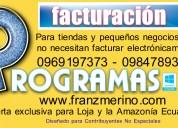 Sistema contable carry, loja, guayaquil, zamora, yantzaza, quevedo, babahoyo, ecuador. contabilidad