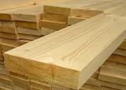 Tablones de pino de 252cm largo x 26cm ancho x 5cm espesor