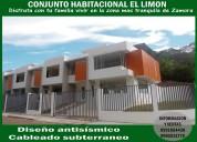 Se vende  casas nuevas barrio el limÓn en zamora