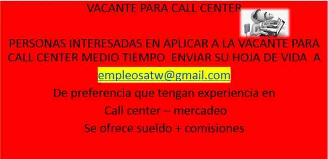 call center mercadeo