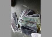 Laboratorio  del limpieza des billetes de banco
