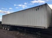 Financio sin entrada furgones para transportar  granos de tres ejes de disco