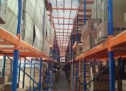 Perchas, estanteria para carga liviana y pesada