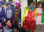 Animamos fiestas infantiles!! payasitos payasas personajes tv.. mago mimo hora loca baby shower..$20