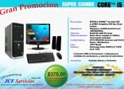 Computadora core i6 6ta generacion con monitor