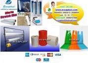 Fabricantes de plástico, rollos de polietileno, fundas plasticas impresas, stretch film