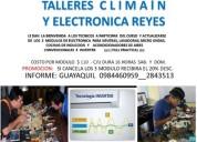 Los  3  modulos de electronica  neveras,  cocinas de induccion  y    acondicionadores de aires