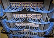Cableado estructurado. categoria 5e, 6a, fibra optica. whatsapp