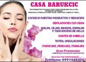 Tratamientos faciales para todo problema de la piel,  manchas, espinillas paÑo ecnÉ y mÁs