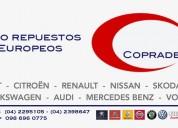 Auto repuestos europeos para citroën guayaquil - quito copradec sa tel.(04) 2295105 / 2398647