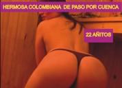 Colombiana   caliente y de paso por cuenca