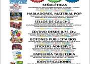 Facturas sri, botones/pines/, jarros impresos, cd impresos
