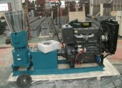 Peletizadora  meelko 260mm 35 hp diesel para alfalfas y pasturas 400-450kg