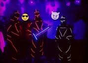 Show trajes led y trajes de neon