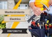 Mantenimiento técnico electricista