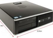 "Computadora hp, core 2 duo 3.16ghz, 4gb ram ddr3, wifi, disco 160gb, pantalla 17"", mouse y tecl"
