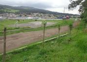 De oportunidad se vende terreno en amaguaÑa con servicios basicos