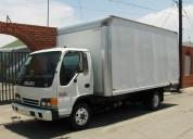 Servicio de camiones de 2, 4, 5, 8 toneladas furgonados en quito
