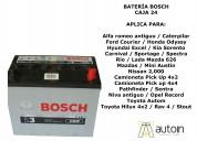 Bacterias bosch caja 24
