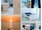 Hermosa suite frente al mar, contactarse.