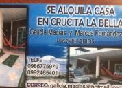 Oportunidad!. alojamiento vacaional en crucita alquiler