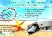 Confortable casa vacacional, contactarse.