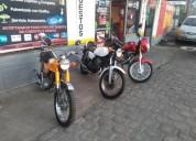 Linda moto amarilla yamaha