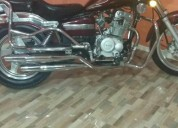 Excelente moto traxx 150 tipo harley honda rebel