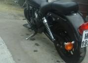 Vendo barata moto tipo harley superligth, contactarse.