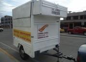 Remolque food truck liviano economico, oportunidad!.