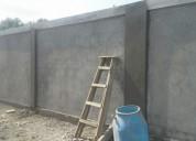 Busco trabajo en construcción.