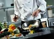 Oportunidad!. chef certificado busco trabajo