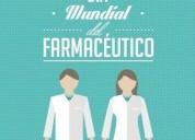 Bioquímico farmacéutico ofrece servicios, oportunidad!.