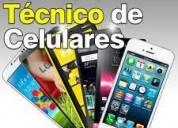 Técnico en celulares y tablets, contactarse.