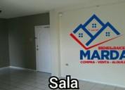 Excelente departamento con garaje en alquiler