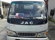 Excelente camión jac doble cabina con aire ac
