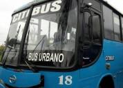 Se vende excelente bus urbano hino gd 2002