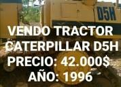 Vendo excelente tractor caterpillar d5h