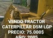 Vendo tractor caterpillar d5m lgp, aprovecha ya!.
