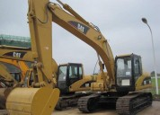 Excelente caterpillar 320dl, año 2012
