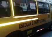 Vendo furgoneta escolar.