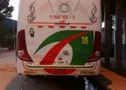 Excelente bus coperativa pasaje con linea
