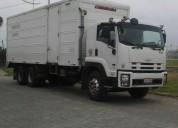 Se vende excelente camion modelo isuzo fvz año 2015