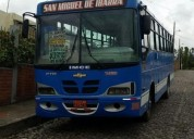 Vendo bus ftr aÑo 2002